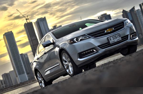 Chevrolet Impala Gulf 2013. Picture courtesy of motoringme.com
