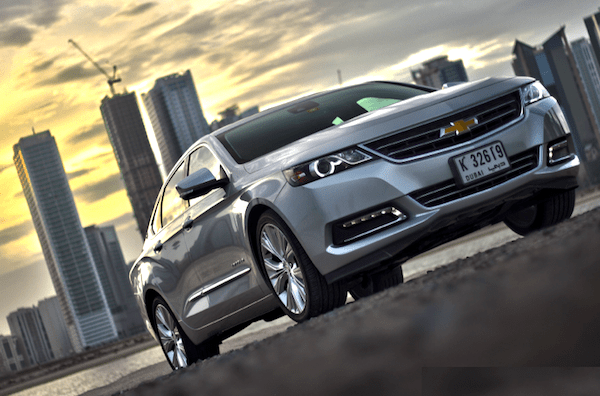 Chevrolet Impala Saudi Arabia June 2014. Picture courtesy of motoringme.com