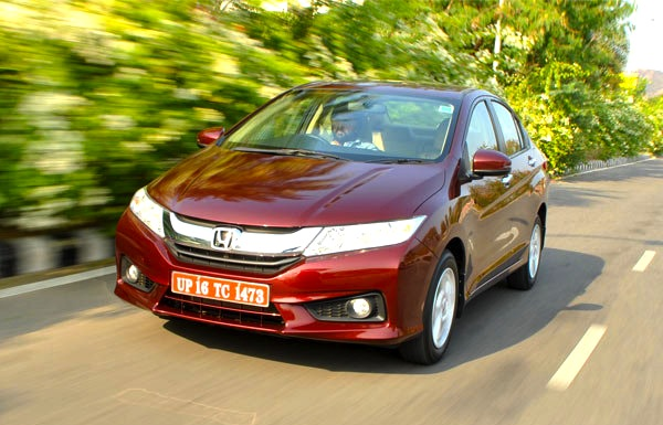 Honda City India April 2014. Picture courtesy of Yahoo India