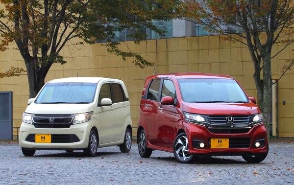 Honda N-WGN Japan February 2014