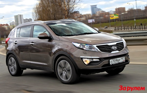 Kia Sportage Russia February 2014. Picture courtesy of zr.ru