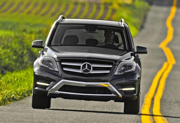 Mercedes GLK China February 2014