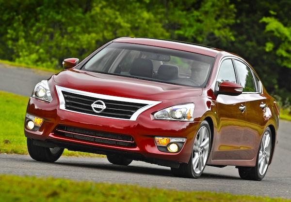 Nissan Altima USA December 2014