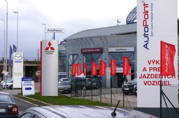 Qoros dealership Bratislava Slovakia. Picture courtesy of totalcarmagazine.com