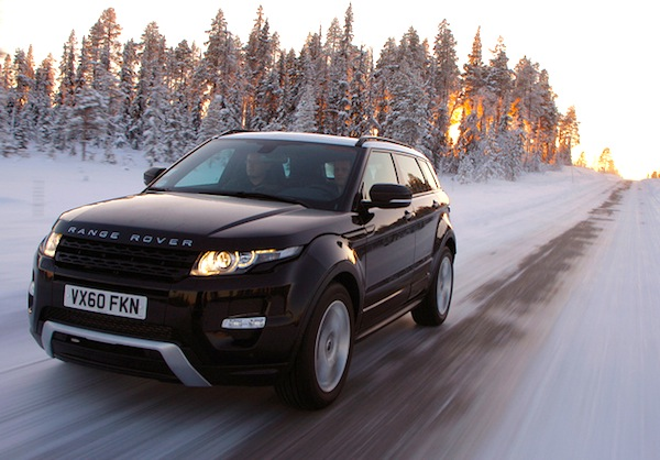 Range Rover Evoque Romania February 2014. Picture courtesy of Flickr