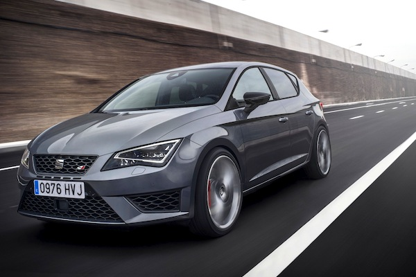 Seat Leon Spain February 2014. Picture courtesy of largus.fr