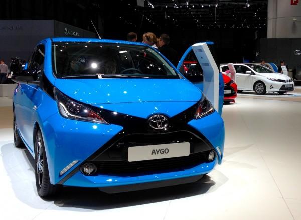 Toyota Aygo Geneva 2014