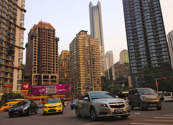 3. Chongqing street scene