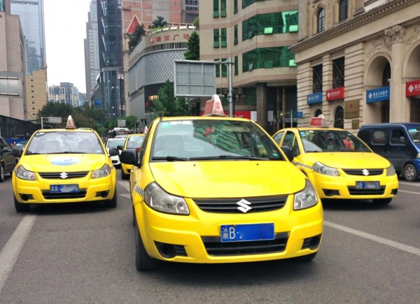 6. Suzuki SX4 Taxi x 3