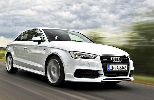 Audi A3 Belgium August 2014. Picture courtesy of automobile-magazine.fr