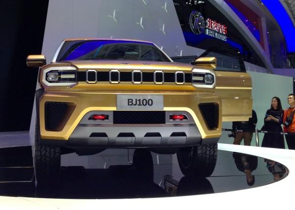 BAIC BJ100 Concept