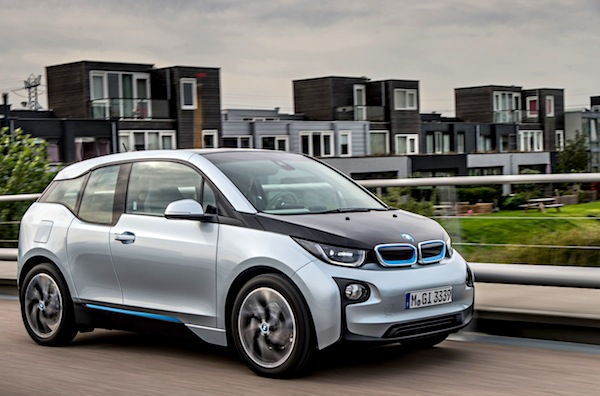 BMW i3 Norway July 2014. Picture courtesy of largus.fr