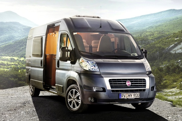 Fiat Ducato France March 2014. Picture courtesy of favcars.com