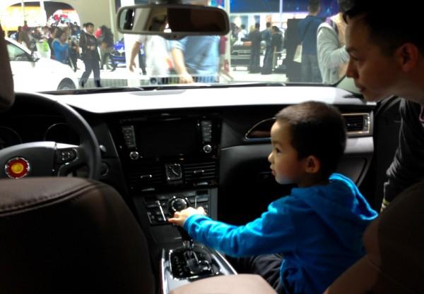 Hongqi H7 interior with future buyer