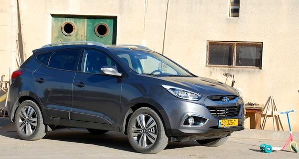 Hyundai ix35 Israel March 2014. Picture courtesy of carsforum.co.il