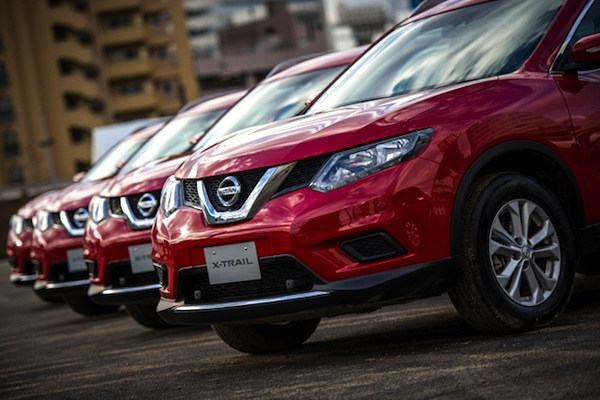 Nissan X-Trail Japan March 2014. Picture courtesy of autoc-one.jp
