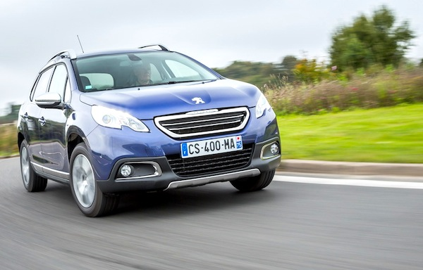 Peugeot 2008 Europe June 2014. Picture courtesy of largus.fr