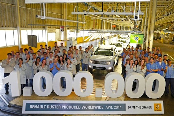 Renault Duster one million. Picture courtesy of autoplus.fr
