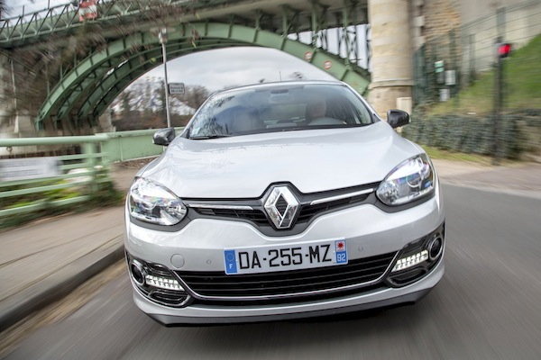 Renault Mégane Estonia March 2014. Picture courtesy of largus.fr