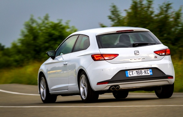 Seat Leon Spain March 2014. Picture courtesy of largus.fr
