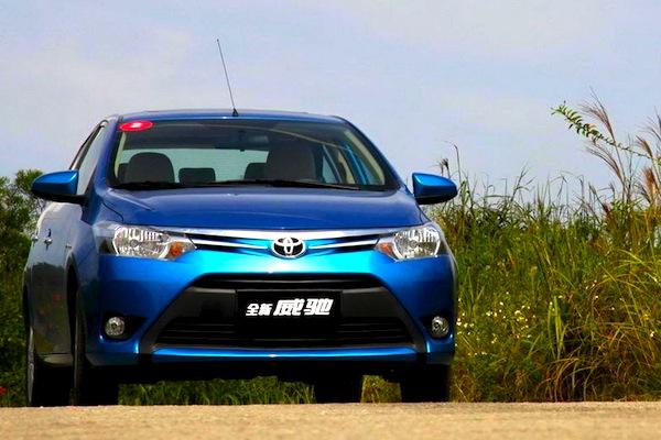 Toyota Vios China March 2014. Picture courtesy of autocina.com.cn