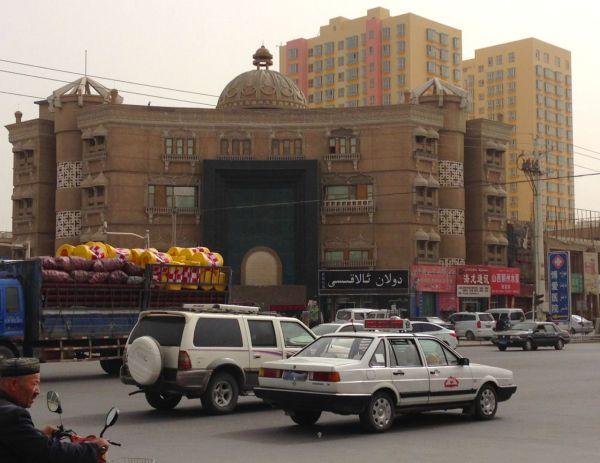 8. Kuqa street scene 2