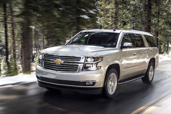 Chevrolet Suburban USA April 2014. Picture courtesy of motortrend.com