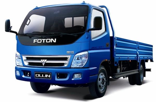 Foton Forland Light Truck China 2013