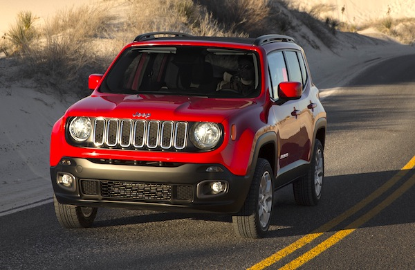 Jeep Renegade USA March 2015. Picture courtesy of automobile-magazine.fr