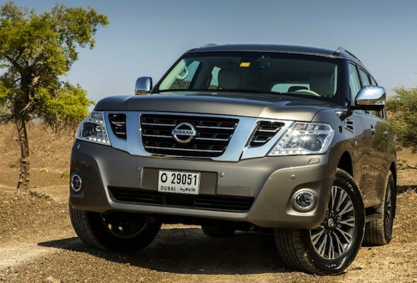 Nissan Patrol Kuwait March 2014. Picture courtesy of suvcar.ru