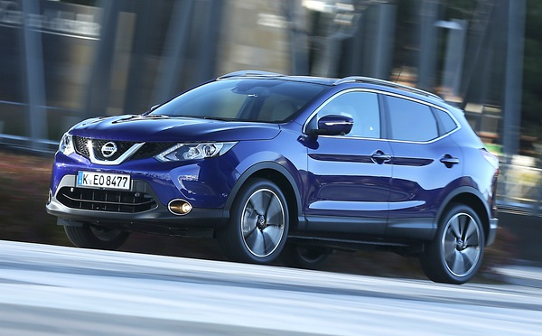 Nissan Qashqai Greece May 2014. Picture courtesy of automobile-magazine.fr