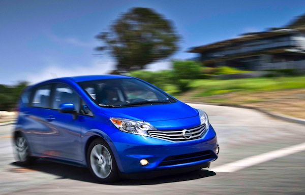 Nissan Versa Note USA July 2014. Picture courtesy of motortrend.com