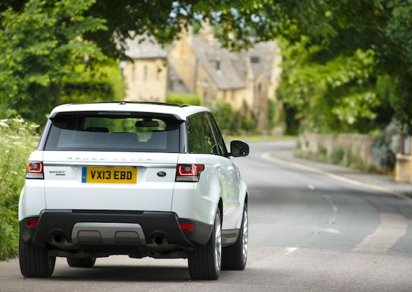 Range Rover Sport France April 2014. Picture courtesy of largus.fr