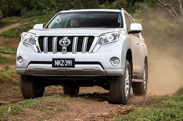 Australia April 2014: Toyota Prado, RAV4 hit all-time high rankings – Best Selling Cars Blog