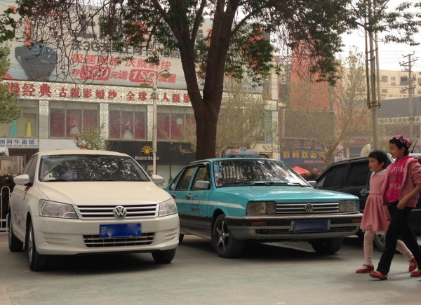 VW Santana new and old