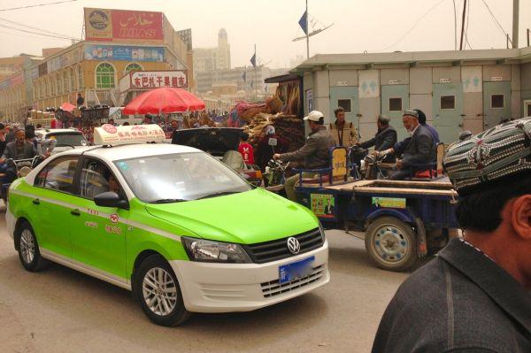 VW Santana taxi