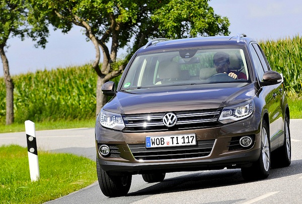 VW Tiguan Germany 2014. Picture courtesy of autobild.de