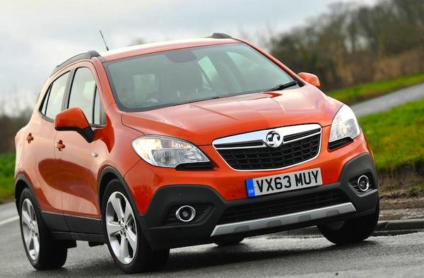 Vauxhall Mokka UK March  2015. Picture courtesy of whatcar.co.uk