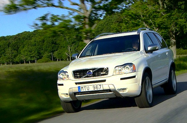 Volvo XC90 Sweden April 2014. Picture courtesy of largus.fr