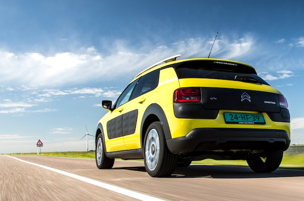 Citroen C4 Cactus France May 2014. Picture courtesy of largus.fr