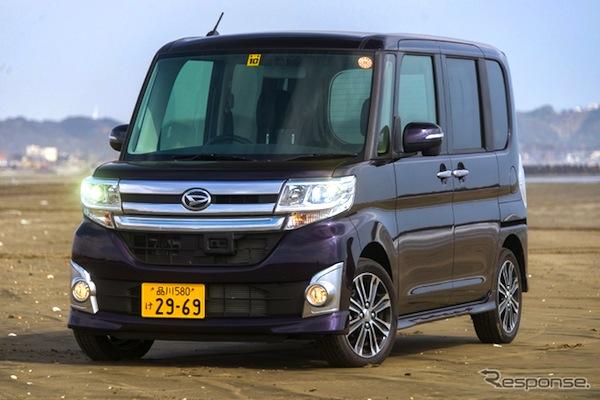 Daihatsu Tanto Japan May 2014. Picture courtesy of response.jp