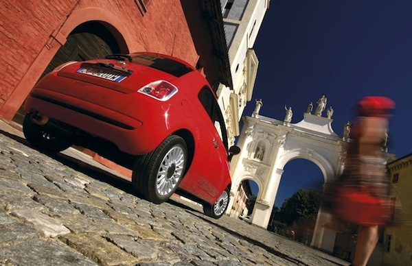 Fiat 500 Lithuania May 2014. Picture courtesy of automobile-magazine.fr