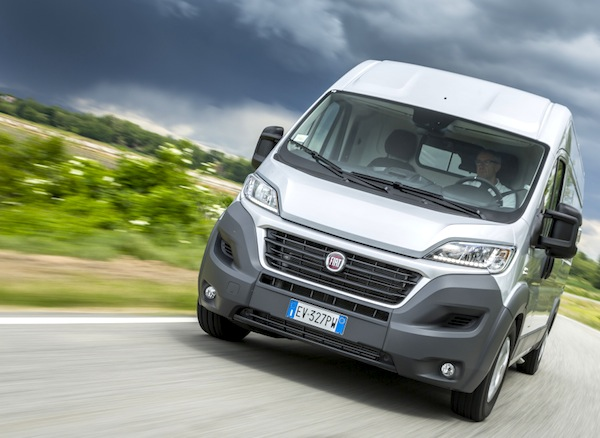 Fiat Ducato France May 2014. Picture courtesy of largus.fr