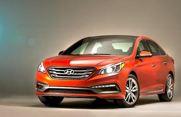 Hyundai Sonata South Korea May 2014