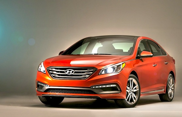 Hyundai Sonata South Korea May 2014