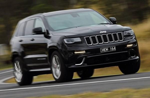Jeep Grand Cherokee Australia May 2014. Picture courtesy of themotorreport.com.au