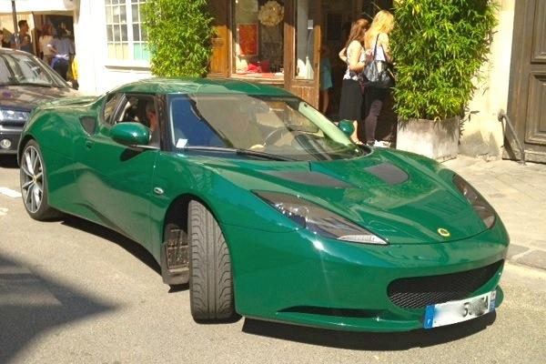 Lotus Evora France June 2014. Picture courtesy Audrey Franc