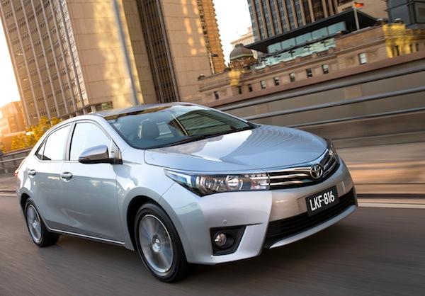 Toyota Corolla Australia May 2014