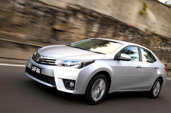 Toyota Corolla Nigeria 2014