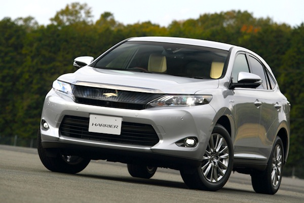 Toyota Harrier Japan May 2014. Picture courtesy of webcg.net